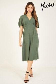 Yumi Kimono 'Celeste' Midi Dress
