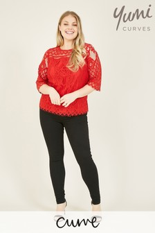 Yumi Curve Lace Top