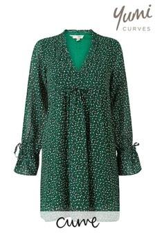 Yumi Curve Leopard Print Tunic