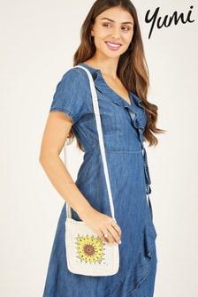Yumi Yumi Cotton Denim 'Emilia' Wrap Dress