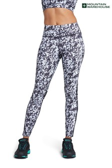 Mountain Warehouse Track Record Womens Patterned Sports Leggings