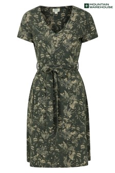 Mountain Warehouse Santorini Womens Summer Lightweight Jersey Wrap Dress