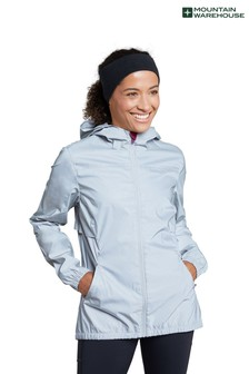 Mountain Warehouse Dashing Womens Reflective Water Resistant Running and Cycling Jacket