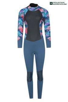 Mountain Warehouse Printed Womens Full Length Neoprene Wetsuit