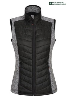 Mountain Warehouse Action Padded Womens Padded Water Resistant Gilet