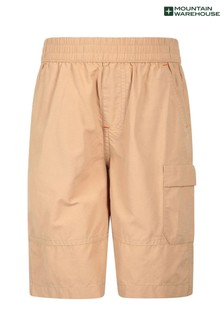 Mountain Warehouse Explorer Kids Organic Cotton Hiking Shorts