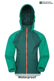 Mountain Warehouse Torrent II Kids Waterproof Outdoor Jacket