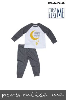 Kids Eid Mubarak Pyjamas by MANA
