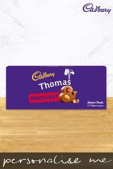 Personalised Cadbury Fruit & Nut Share Pack by Yoodoo