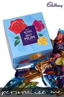 Personalised Best Mum Cadbury Roses Cube by Yoodoo
