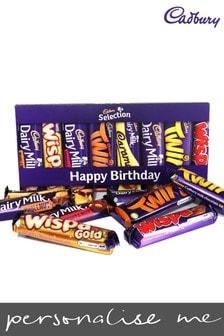Personalised Cadbury Mixed Bars Letterbox Selection by Yoodoo
