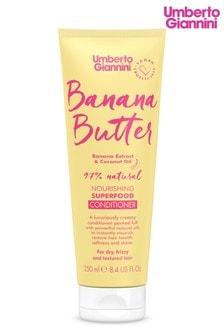 Umberto Giannini Banana Butter Nourishing Superfood Conditioner 250ml