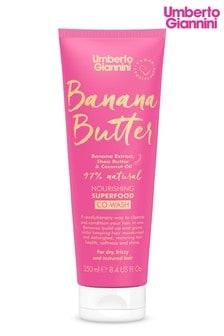 Umberto Giannini Banana Butter Nourishing Superfood Co-Wash 250ml