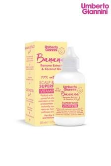 Umberto Giannini Banana Butter Nourishing Superfood Scalp & Hair Vitamin Oil 60ml
