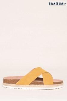 Brakeburn Cross Strap Sandal