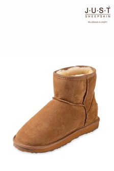 Just Sheepskin Ladies Mini Classic Sheepskin Boots