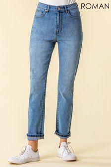 Roman Slim Leg Mom Jeans