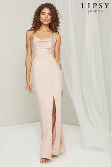 Lipsy Cowl Bridesmaid Maxi Dress