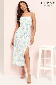 Lipsy Milkmaid Maxi Dress