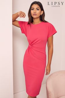 Lipsy Knot Midi Dress