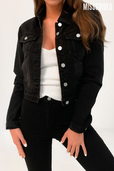 Missguided Fitted Denim Jacket