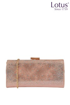 Lotus Footwear Diamante Clutch Bag