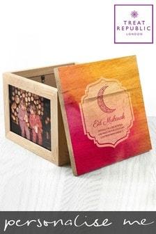 Personalised Eid Mubarak Keepsake Photo Box By Treat Republic