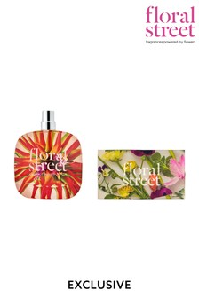 Floral Street (Worth £69) Electric Rhubarb Eau de Parfum 50ml and Mini Light Discovery Gift Set