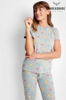 Threadbare Cotton Short Sleeve Loungewear Set