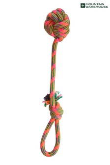 Mountain Warehouse Dog Rope Ball Pull Toy