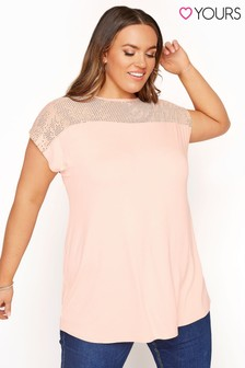 Yours Sequin Panel Top
