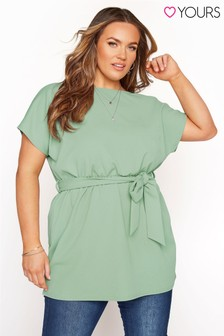 Yours Belted Cape Top