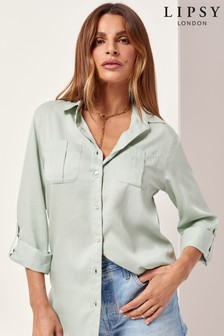 Lipsy Relaxed Supersoft Utility Shirt