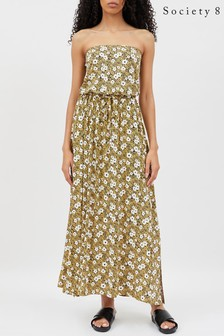 Society 8 Floral Bandeau Dress