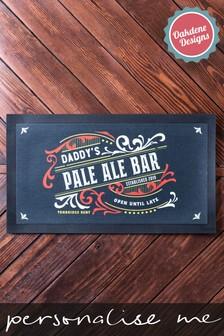 Personalised Home Bar Runner by Oakdene