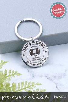 Personalised Metal Keyring by Oakdene