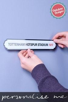 Personalised Football Stadium Sign by Oakdene