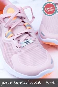 Personalised Metal Shoe Tags by Oakdene