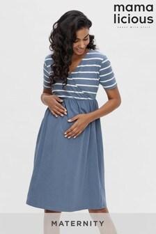 Mamalicious Maternity Nursing Wrap Dress