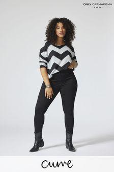 Only Carmakoma Curve High Waist Skinny Jean