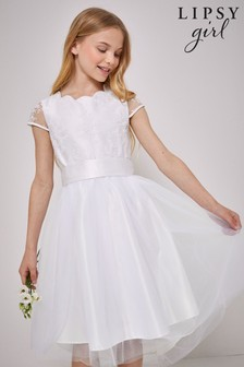 Lipsy Lace Cap Sleeve Occasion Dress