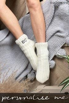 Personalised Slipper Socks by Solesmith