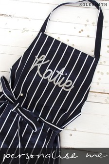 Personalised Glitter Name Apron by Solesmith