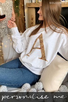 Personalised Leopard Jumper by Solesmith