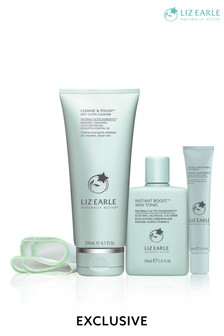 Liz Earle Fresh Skin & Eyes Trio (Worth £62)