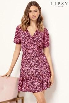 Lipsy Tier Wrap Dress