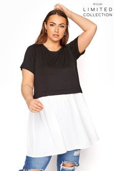 Yours Limited Skirted Smock Top
