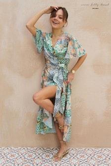 Never Fully Dressed Cordelia Wrap Dress