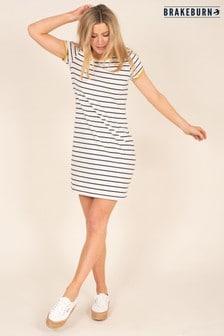 Brakeburn Organic Cotton Stripe Dress