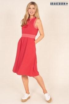Brakeburn Jersey Colour Block Dress